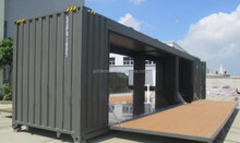 20ft projects of houses of sea container from Shenzhen
