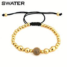 Fashion Jewellery Stainless Steel Bead Design Kids Stretch Bracelets