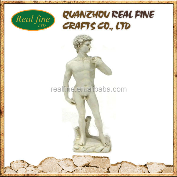 2015 Newly italy souvenir resin man statue molds for sale