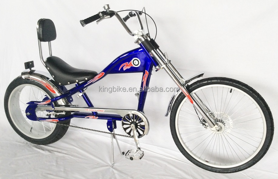 2015 hot sell bicycle/20/24 colorful Adult Chopper bike for sale KB-CH200