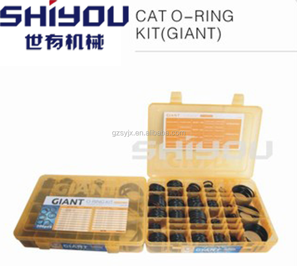 Excavator Seal Parts O Ring, Rubber O Ring, O Ring Kit GIANT DINGLI
