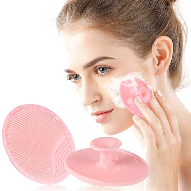 Silicone margin brush <strong>beauty</strong> personal care face cleansing brush C0327