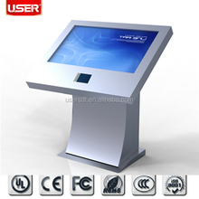 2015 Advertising LCD touch Screen/Exhibition lcd display/floor lcd advertising screen