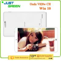 Gold Supplier Onda V820W CH Intel z8300 Quad core 1280*800 8 inch tablet pc touch screen digitizer with great price