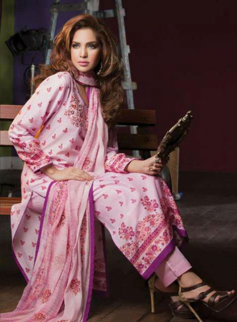 Alkaram Spring Summer Lawn Collection 2013 For Women