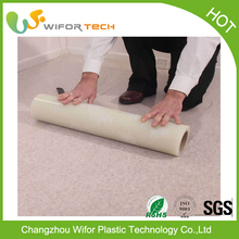 Self Adhesive Temporary PE Clear Plastic Protective Film