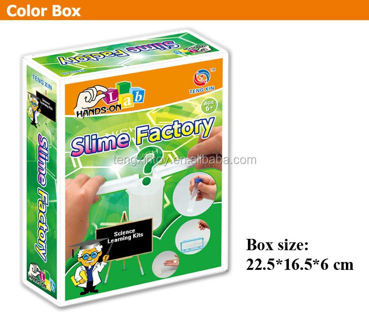 Slime factory--fun science kits