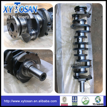 engine spare parts Casting Iron Crankshaft for Mitsubishi 6D40
