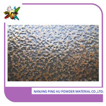 Chemical resistant interior texture paint powder coating