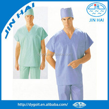 Hospital using promption new design dickies mens scrubs