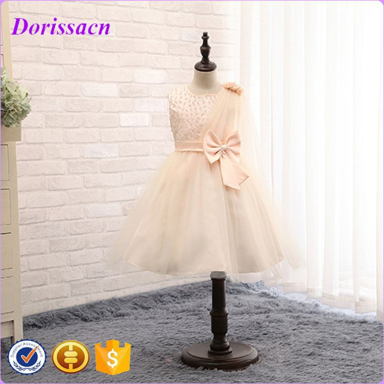 spaghetti strap flower size 14 gril dresses little girl lace evening dress kids western wear