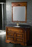 Classic Style Solid Wood Bathroom Vanity Units
