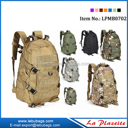 Out door sports use military waterproof backpack tactical