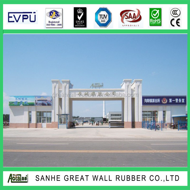 Great Wall Braid Pattern Rubber Flooring mat in 3mm thickness
