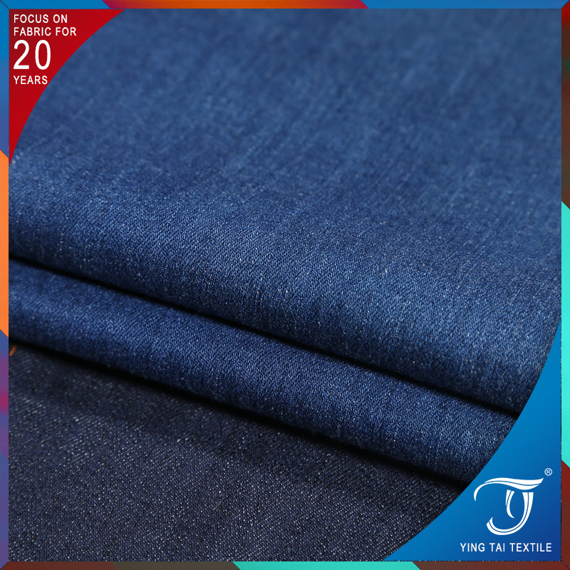 Accept trial order 9.7 oz jean fabric twill denim fabric for garment