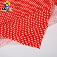 2017 New deisgn Oeko-Tex Standard 100 red soft cotton polyester fabric for t-shirt