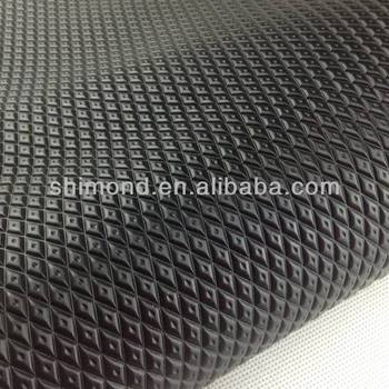 Diamond Pattern PVC Synthetic Leather for Car Floor Mat