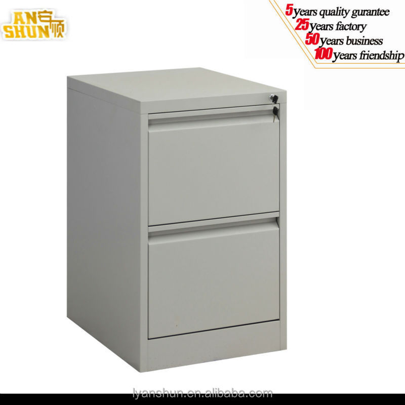 Luoyang New Style KD 2 drawer office furniture steel cupboard, metal file cabinet lockable design