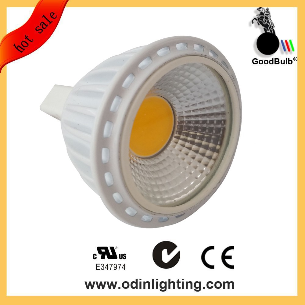 5W MR16 aluminum casing cup LED spotlight