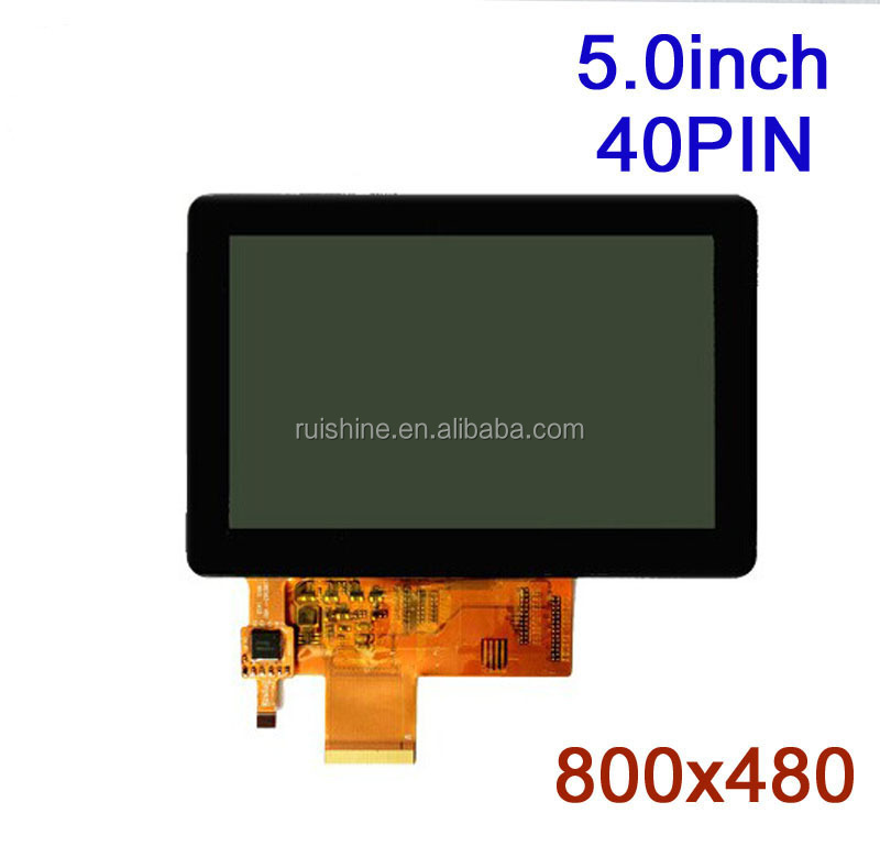 "TFT Type 800x480 5"" inch tft lcd screen"