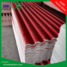 High strength anti corrosion fireproof PET membrane mgo roofing tiles