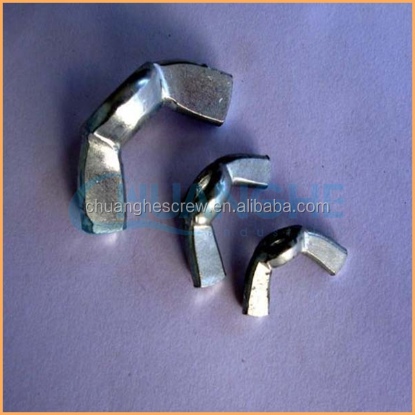 Chinese manufacturers supply high quality and low price wing nut dimensions