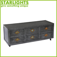 Ancient Chinese retro style wooden cabinet furniture