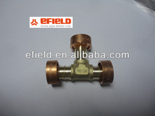Brass Pex Fittings for pipes Canada Standard-Tee