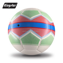 Factory hot sale PVC laminated football for world cup soccer ball official match