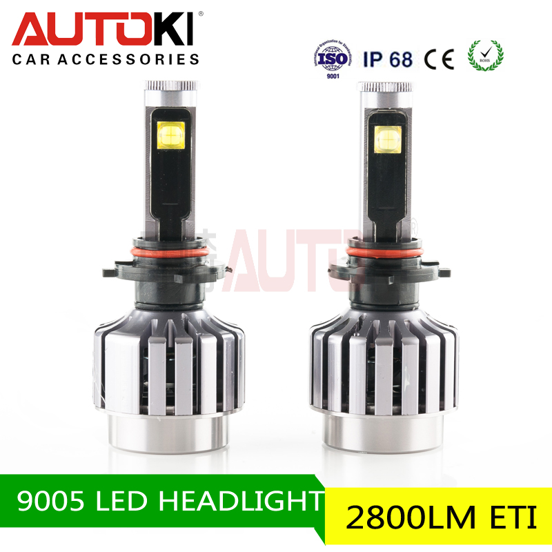Best Selling Autoki 9005 High Power Led Motocycle Headlight Led 75W For Motor Warranty 12 Months