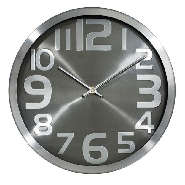 24 inch Iron multicolored wall clock with traditional designed colorful panels for home decor
