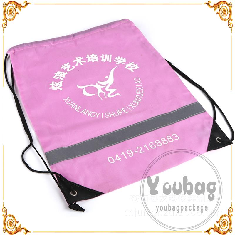 Professional wholesale promotional polyester shopping bag