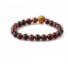 Jade beads natural stone jewelry lion beads elastic bracelet wholesale