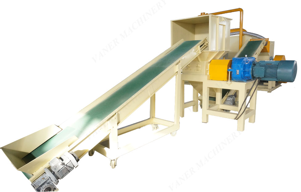 big capacity scrap copper granulator wire separating machine with CE