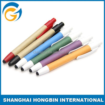 Advertising Touch Promotional Paper Touch Ball Pen