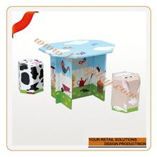 Customize contact kids'toy paper craft handmade furniture fashion custom made salon furniture