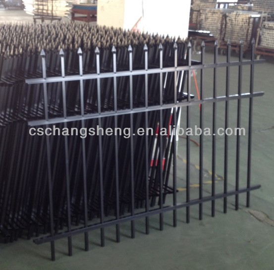Garden Bed Metal Fence