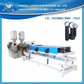 LS-200 type extruding machine for 110-200mm double wall PE corrugated water pipe