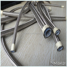 Rubber Oil Conveying Welding Teflon Braided Hydraulic Hose