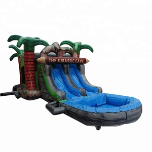 Hot Sale Jurassic Park Theme Inflatable Bouncer Giant Inflatable Water Slide