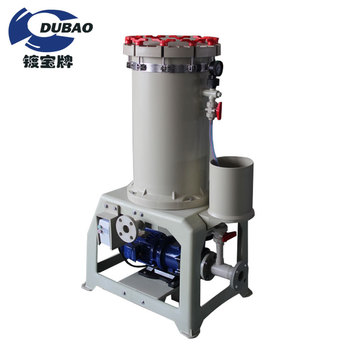 High quality Polypropylene Filter House with optional filter bag used in chemical liquid