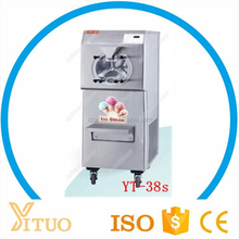 High production effective carpigian imported compressor hard ice cream batch freezer making machine