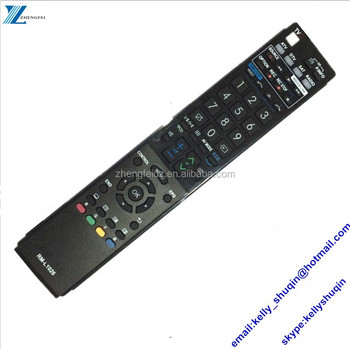 61 keys 61 buttons 3D LCD/LED/PLAZMA universal remote control SHARPUER with 3D & DTV Function RM-1026 RM-L1026+3D