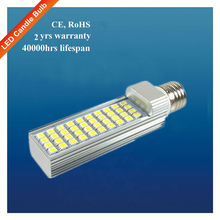 7w LED PL light, LED PL tube, LED indoor lighting AC 85-265V