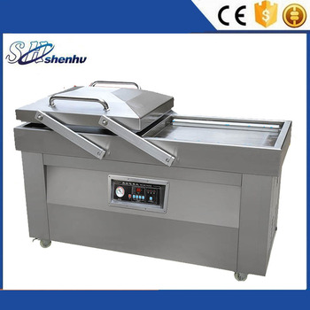 Full automatic vacuum nitrogen flushing sealing packing machine
