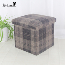 Durable in use fabric decorative storage boxes
