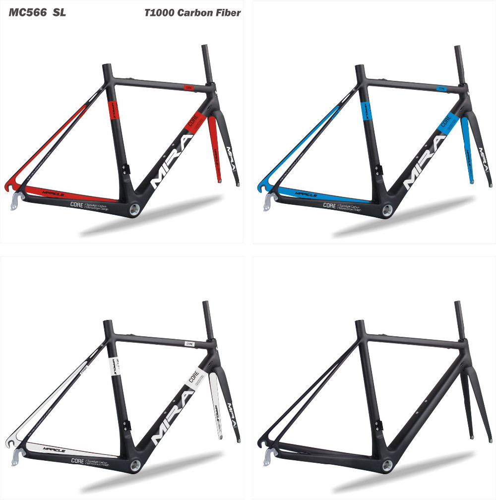 MIRACLE superlight carbon frame road bikes T1000 light weight road carbon frame