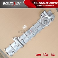 oil cooler cover for mitsubishi 6D14 6D15 6D16 6D17 ME132142 ME034573 ME033687 ME074185 ME034570 ME074331