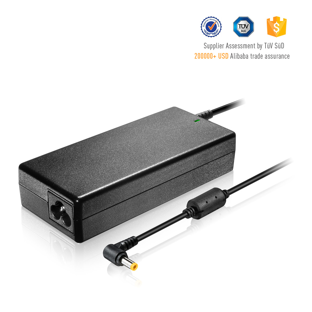 90W Replacement Laptop AC to DC Adapter 19V 4.74A 5.5*2.5mm for Aspire E15 F15 V7 R11 S3 M5, TravelMate B113 P645 P2 P4 X4