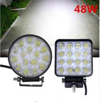 48W Car Spot Worklight Head Lamp Truck Motorcycle Off Road Fog Lamp Tractor Car LED Headlight